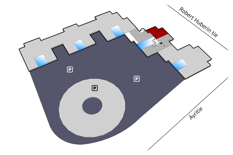 Toimitilat Vantaa | Plaza Business Park | pohjakuva
