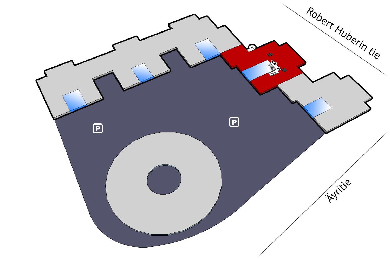 Äyritie 22, Tuike, 768 m2, 5. krs