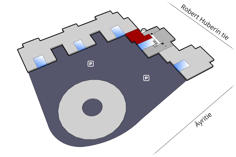 Vapaat toimitilat Vantaa   Plaza Businesspark   250 m2, 4. krs