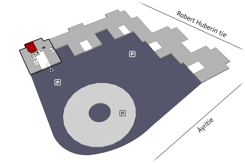 Plaza Business Park Tuike 103 m2 1. krs | vacant business premises Vantaa