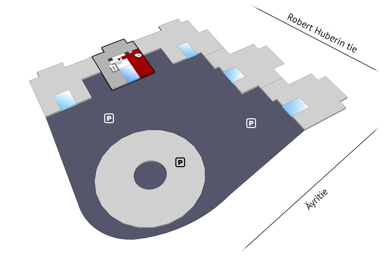 Vapaat toimitilat Vantaa Plaza Business Park Hehku Äyritie 18 198 m2 6. krs