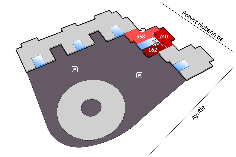 Vacant premises Vantaa Plaza Business Park Tuike Äyritie 22 768 sqm 5th floor