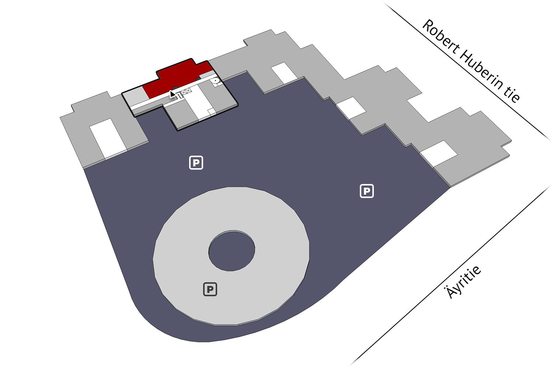 Vapaat toimitilat Vantaa Plaza Business Park Hehku Äyritie 18 325 m2 1 krs
