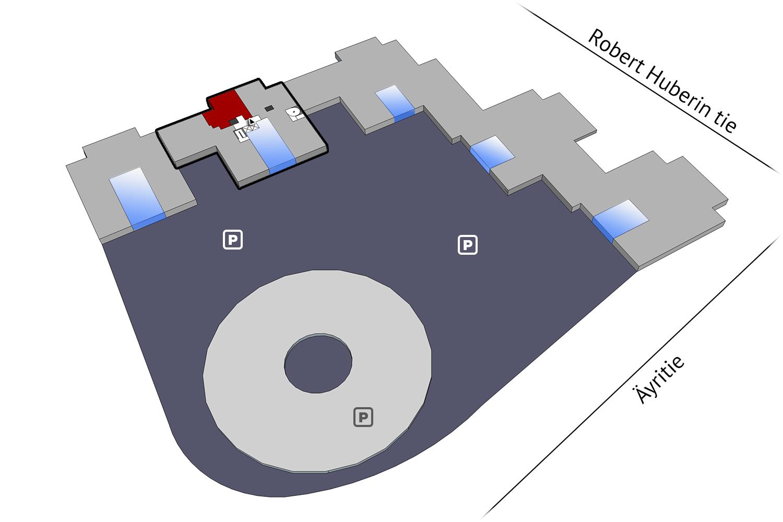 Vapaat toimitilat Vantaa Plaza Business Park Hehku Äyritie 18 131 m2 4 krs