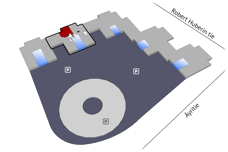 Vacant premises Vantaa Plaza Business Park Hehku Äyritie 18 131 sqm 4th floor